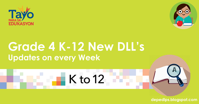 Deped Grade 4 K-12 Daily Lesson Log (DLL)