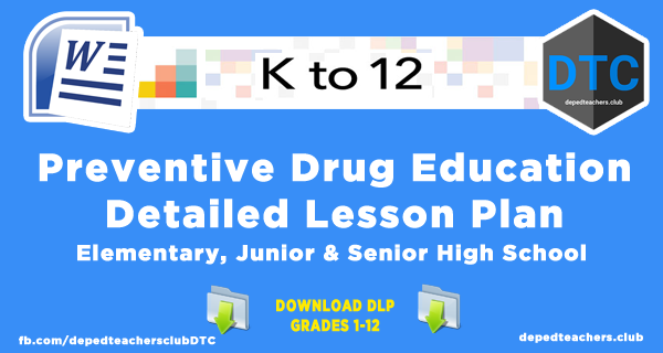 Preventive Drug Education Detailed Lesson Plan