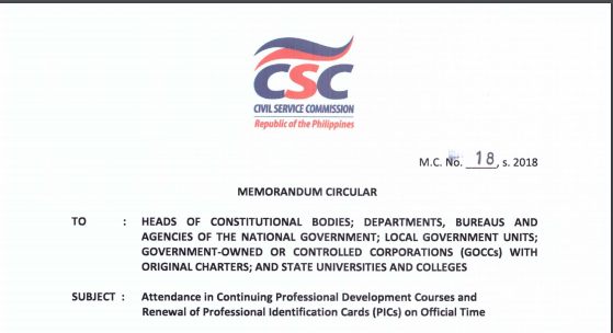 Renewal Of Professional Id Considered Official Time