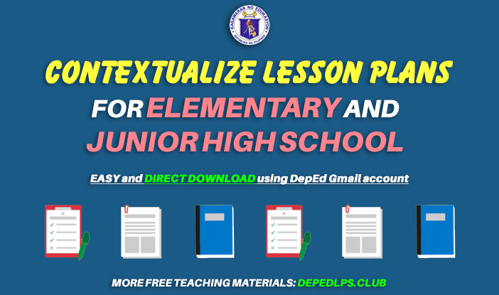 Contextualize Lesson Plans for Elementary and Junior High School