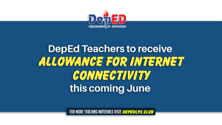 DepEd Teachers to receive allowance for internet connectivity this coming June