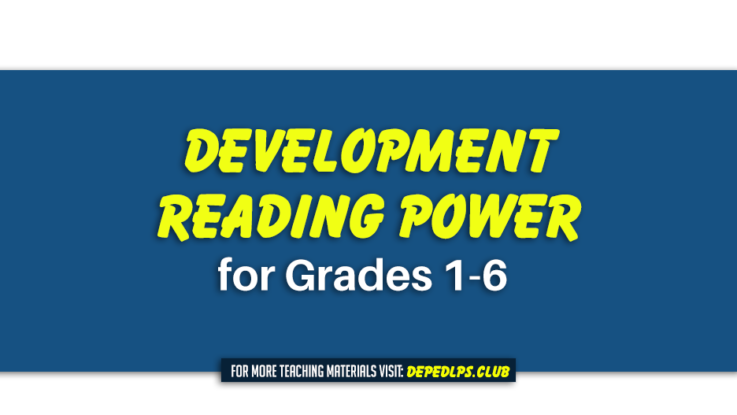 Development reading power for Grades 1-6