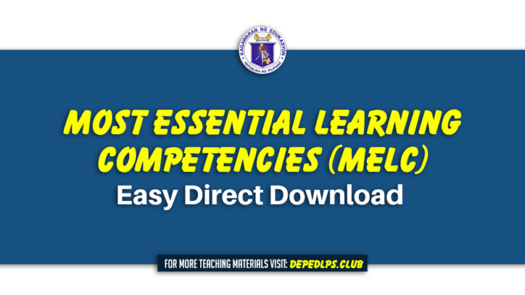 MOST ESSENTIAL LEARNING COMPETENCIES (MELC) Easy Direct Download