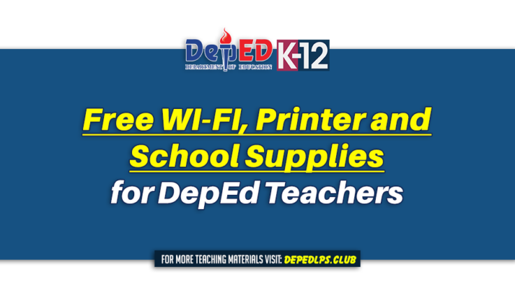 Free WI-FI, Printer and School Supplies for Teachers
