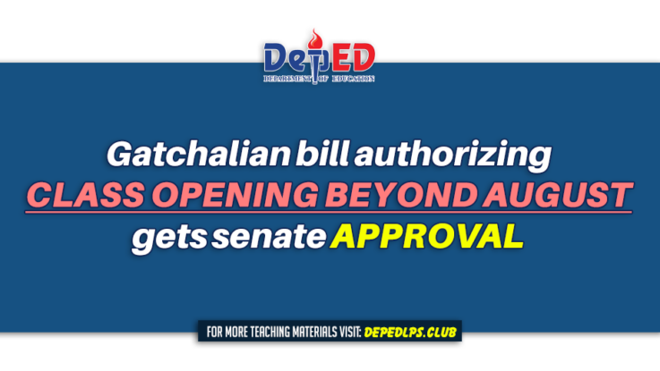 Gatchalian bill authorizing class opening beyond August gets senate approval