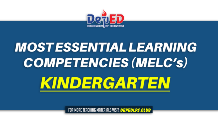 MOST ESSENTIAL LEARNING COMPETENCIES (MELC) KINDERGARTEN