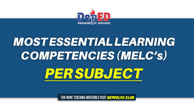 Most Essential Learning Competencies (MELCs) per SUBJECT (SY 2020-2021)