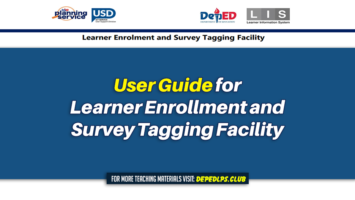 User Guide for Learner Enrollment and Survey Tagging Facility