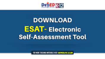 DOWNLOAD ESAT- Electronic Self-Assessment Tool