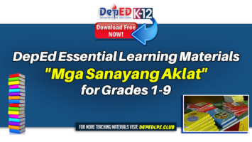 DepEd Essential Learning Materials Mga Sanayang Aklat for Grades 1-9