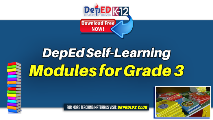 DepEd Self-Learning Modules for Grade 3