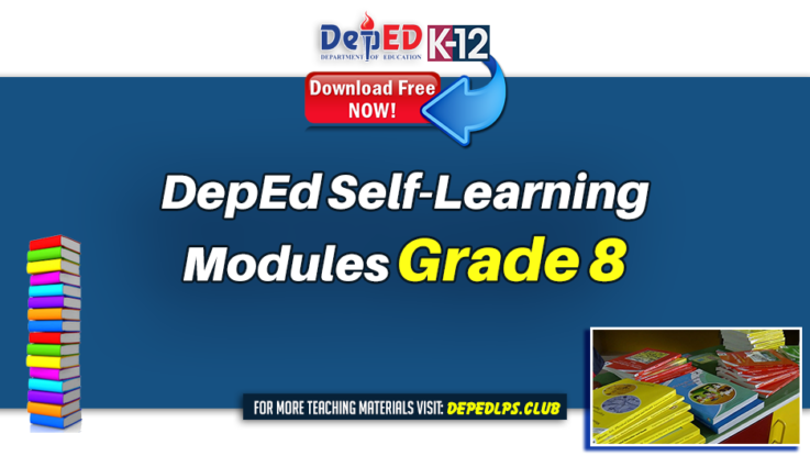 DepEd Self-Learning Modules for Grade 8
