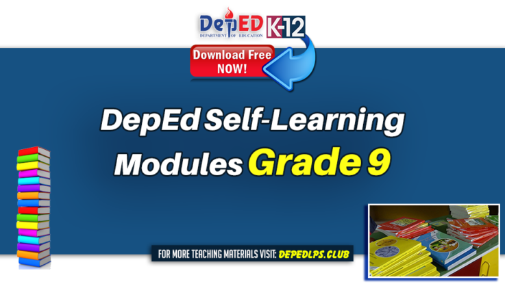 DepEd Self-Learning Modules for Grade 9