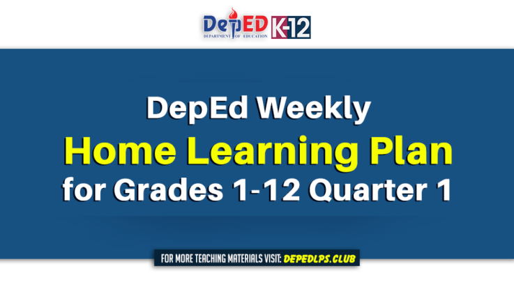 DepEd Weekly Home Learning Plan for Grades 1-12 Quarter 1
