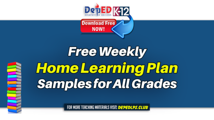 Free Weekly Home Learning Plan Samples for All Grades