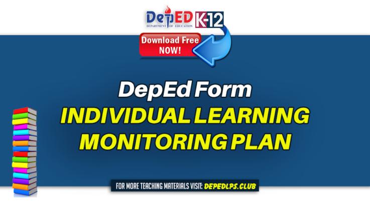 INDIVIDUAL LEARNING MONITORING PLAN