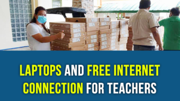 Laptops and free internet connection for Teachers
