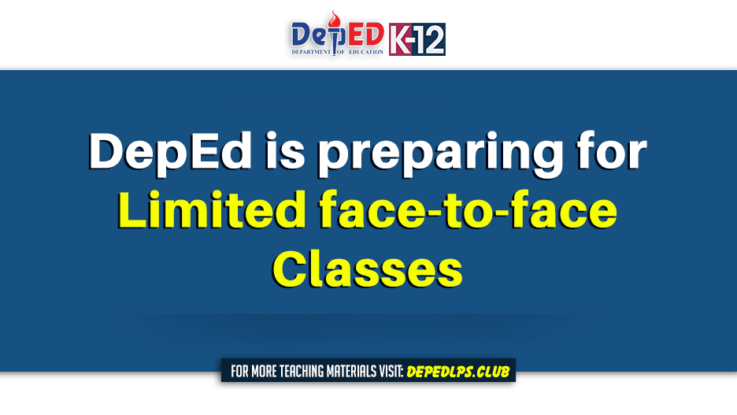 DepEd is preparing for limited face-to-face classes