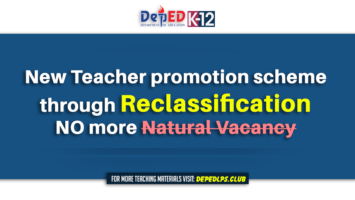 New promotion scheme will be through Reclassification & no more Natural Vacancy