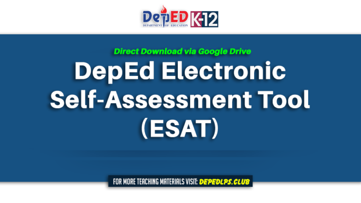 Download - DepEd Electronic Self-Assessment Tool (ESAT)